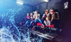 Groupon - Two, Four, or Nine Tickets to XD Adventures 9D Virtual Reality Interactive Cinema Ride (Up to 44% Off)  in XD Adventures 9D Virtual Reality Interactive Cinema Ride. Groupon deal price: $12