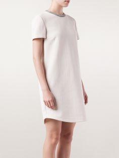 Brunello Cucinelli 'monili' Collar Dress - Mazzoni - Farfetch.com