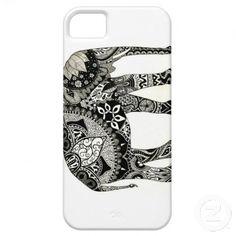 Artsy Elephant iPhone Case