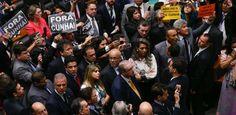 Após cassação, Eduardo Cunha culpa governo Temer
