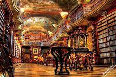 Кементинум, Klementinum, достопримечательности Праги, Прага, Чехия Klementinum Ptague old library