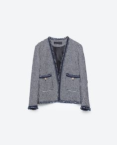 Image 8 of PRINTED JACKET from Zara
