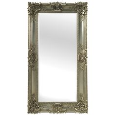 """Selections by Chaumont Mayfair Leaner Mirror - 35.5"""" x 67"""" x 3.5"""" (Satin - Champagne (Beige)), Size 35.5"""" x 67"""" x 3.5"""""""