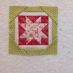 Block 13 Scrappy star for the Splendid Sampler quilt