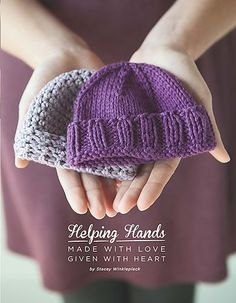 Hats are always adorable on newborns and babies, and this soft and simple hat will be just that. With a cuffed brim and simple stitches, you'll be finished making it in no time and be ready to start another!