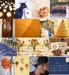 chicago bears wedding colors | Royal blue and Orange? - Project Wedding Forums