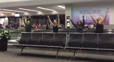 Watch These College Students Pull Off a Flawless Beyoncé Routine on a Moving Airport Walkway