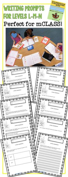 Perfect instructional resource to integrate mCLASS Reading 3D question stems within your guided reading groups. Guided reading levels L-M-N.