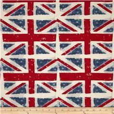 Premier Prints Union Jack Macon Premier Navy
