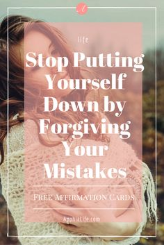 Do you have the issue of down playing yourself? Lack confidence in your abilities? Well here are 4 great tips on how to stop putting yourself down.