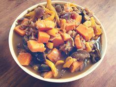 Curry de légumes au lait de riz