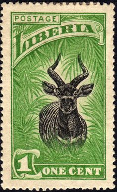 Liberia antelope 1c