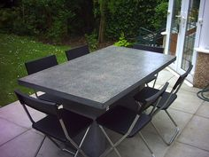 Great Polished Concrete Table Tops   Paul Davies Design