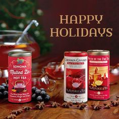 Happy Holidays from The Republic of Tea!