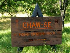 Chaw-se Indian Grinding Rock, Amador County, California