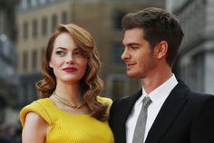 Andrew Garfield and Emma Stone...love them