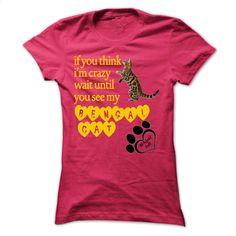 Funny Bengal Cat Tshirt T Shirt, Hoodie, Sweatshirts - tshirt printing #shirt #Tshirt