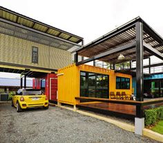 Container hotel, Container Brasserie? :)