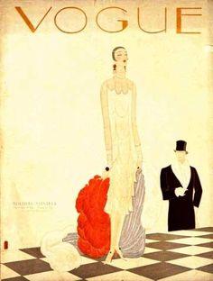 Vogue USA cover  - December 1925