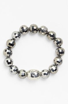 They look like mini disco balls! Stretch Bracelet