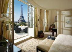best hotel view in paris - Paris Hotels With Views Of Eiffel Tower - Shangri La Hotel Paris