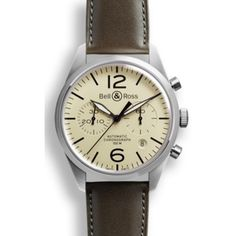 Bell and Ross BR 126 Vintage Original Beige