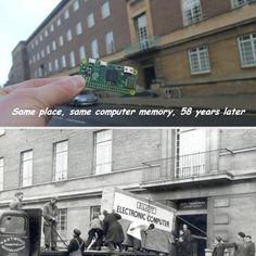 Evolutia calculatorului in 58 de ani