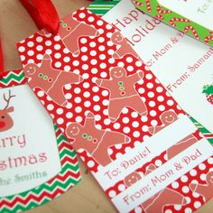 PixiebearParty shared a new photo on Etsy Christmas Tags Printable, Christmas Gift Tags, Perfect Christmas Gifts, Christmas Crafts For Kids, Christmas Fun, Printable Invitations, Party Invitations, Party Printables, Party Favors For Kids Birthday