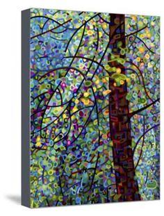 Pine Sprites Giclee Print by Mandy Budan at Art.com