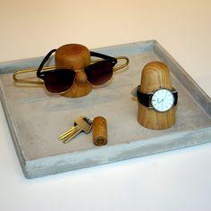 Flot brilleholder og urholder i træ