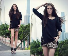 Nowistyle Sweatshirt, H&M Shorts