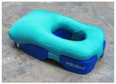 Face down tanning/massage pillow. I NEED!!!!! Puh-lease