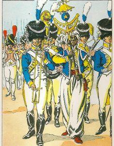 French; Imperial Guard, 3rd(Dutch) Grenadiers a Pied, Musicians, Grande Tenue 1809-11