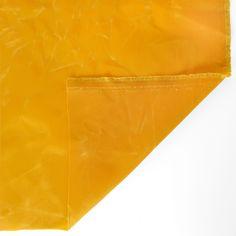 Waxed Cotton Canvas - Canary | Blackbird Fabrics Waxed Canvas, Cotton Canvas, Fabric Swatches, Woven Fabric, Blackbird, Fabrics, Rain, Note, Medium