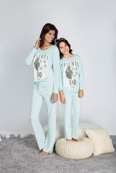 Mother Daughter Pictures, Matching Pajamas, Mommy And Me Outfits, Pj Sets, Pyjamas, Nightwear, My Outfit, Lounge Wear, Clothes For Women