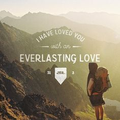 """""""The Lord appeared to us in the past, saying: """"I have loved you with an everlasting love; I have drawn you with unfailing kindness."""" Jeremiah 31:3 NIV❤️ #instahappy#bibleverseoftheday#everlasting#dailydevotion#praise#morning#metimewithgod#sharing#love#unfailingkindness#graciousgod#merciful#hisword#onefineday#2016#instabibleverse#heart#emoji#september"""