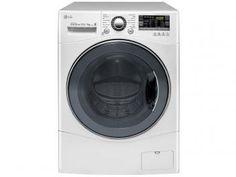 Lava e Seca 10,2Kg LG Direct Drive WD1412RTB - Água Quente com 14 Programas de Lavagem