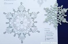 Crochet Wedding Dress Pattern, Crochet Tunic Pattern, Crochet Motif, Crochet Doilies, Free Crochet Snowflake Patterns, Christmas Crochet Patterns, Crochet Snowflakes, Crochet Angels, Crochet Stars