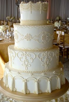 Wedding Cakes Piping