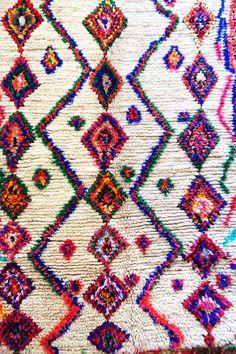 モロッコラグ ボ・シャルウィット ボ・シャラウィット Boucherouite フレンチモロッコ  モロッコ 絨緞 ベルベル アジラル Azilal ベニワレン ベニオワレン