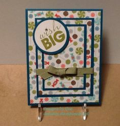 Wish Big Designs By Dee Isley Deeisleystampinup Flipflops Deeyahoo Custom Designed Birthday Cards