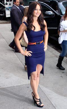 "Jennifer Lawrence visits ""Late show David Letterman"" 19.05.2011 #JenniferLawrence"