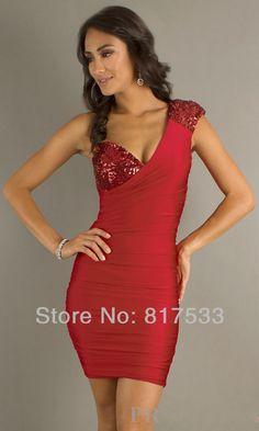 vestidos de fiesta cortos rojos con negro vestido de fiesta semi formal