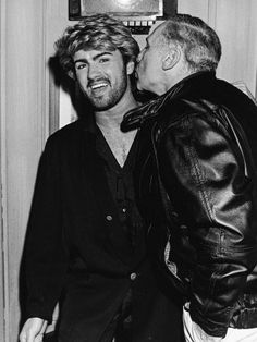 George Michael and Mel Brooks 1985 George Michael Careless Whisper, George Michael Wham, Beautiful Voice, Most Beautiful Man, Gorgeous Men, George Michel, Peter Andre, Andrew Ridgeley, Michael Love