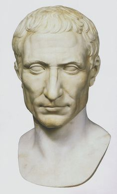 Julius Caesar c. 50 BC Marble Vatican Museums, Vatican City