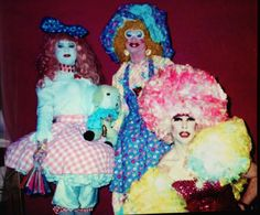 FABULOUS NEW BOOK I AM IN & SOME VERY COLORFUL DIVAS, CLUB KIDS FROM THE 1990'S ERA OF NYC CLUBBING... A MUST FOR ANY COLLECTOR.  New Photo Book Release, Of NYC's 1990-80′s Club Kid Era… & Its Fabulous Divas & Scandalous Night Life Dolls.