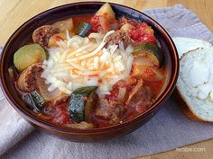 Hearty Sausage and Potatoes