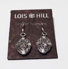Lois Hill Turkish Sunset Oval Earrings
