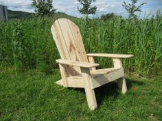 1000 images about meuble en palettes de bois on pinterest for Chaise adirondack bois
