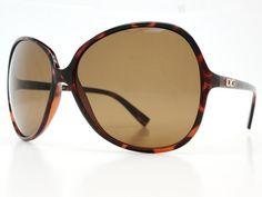 Womens oversized sunglasses O022 Tortoise